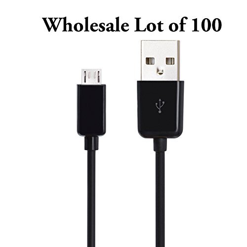 Focuslife 100 Wholesale Micro-USB Charger Data Sync Cable...