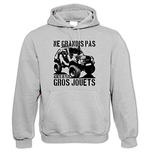 Capuche Clothing 4wd Gros Achète Clair Plus Sweat Gris 3 4x4 Jouets À Bang Tidy De RwI54