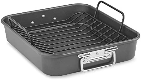 KitchenAid KitchenAid KBNSO16RP 16 Aluminized Steel Roaster with Rack – Nonstick