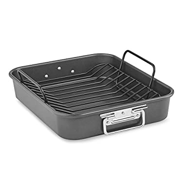 KitchenAid KitchenAid KBNSO16RP 16  Aluminized Steel Roaster with Rack - Nonstick