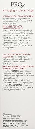 ProX by Olay Age Repair Lotion Face Moisturizer with Sunscreen, SPF 30 2.5 fl oz