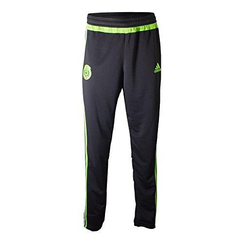 Adidas Mexico Soccer Training Pant (Black, Semi-Solar Green) Sz. XX-Large