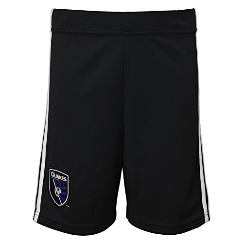 Outerstuff MLS San Jose Earthquakes Boy's Primary Replica Shorts, Black, Large