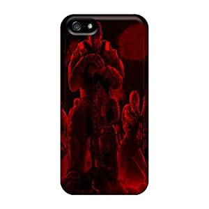High Quality Mobile Case For Iphone 5/5s With Provide Private Custom Lifelike Gears Of War 3 Image RitaSokul