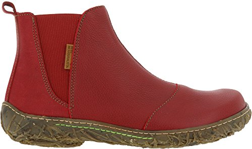 El Naturalista Nido Leather Boots N786 Rosso Womens 11v7dxqwr