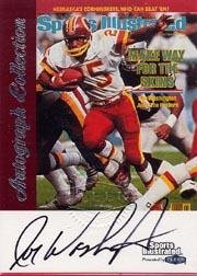 1999 Sports Illustrated Autographs #32 Joe Washington Near Mint/Mint 1999 Sports Illustrated Autographs