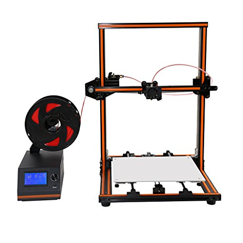 MonkeyJack 3D Printer Anet E12 0.1-0.4mm Includes SD Card and Sample PLA Filament by MonkeyJack
