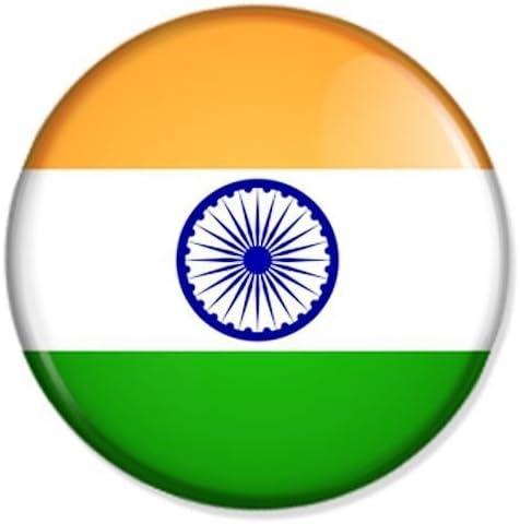 Buttons Und Pins Flagge Indien Kühlschrankmagnet Magnet Magneten Pinnwand Magnet Pinnwand Küche Haushalt