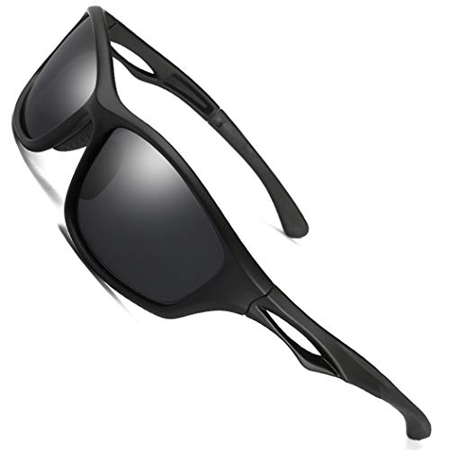 ITSCOOL Polarized Sports Sunglasses for Men Women Cycling Running Fishing Golf Tr90 ()