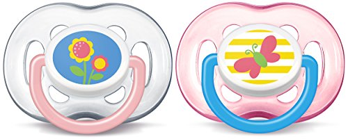 Philips Avent Freeflow Pacifier, 18+ months, Pink, SCF186/28 -