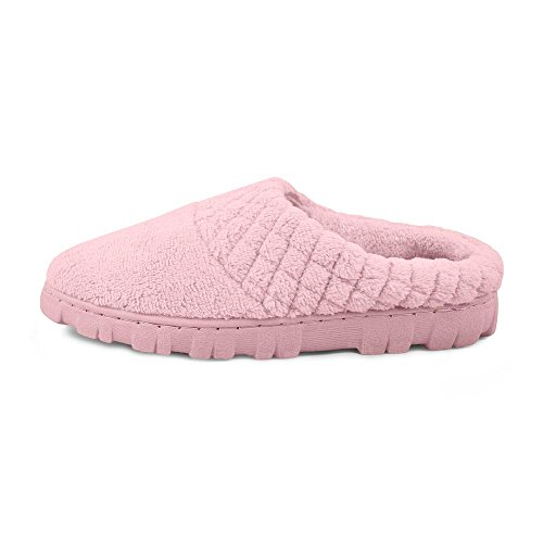 Chenille Micro Clog Women's US Slipper LUKS MUK Large Pink xHna4wfq