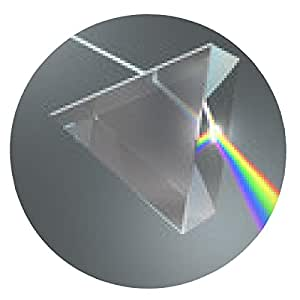 alfombrilla de ratón Crystal Prism - ronda - 20cm