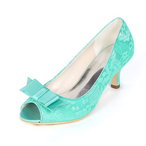 yc Espumoso Para Toe L Tacones Blue Altos Novia 43 Peep Mujeres Heel 9cm 35 Zapatos De Plataforma Satén dS7Iqw7