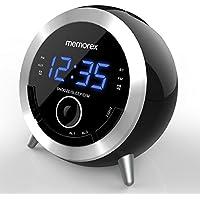 Memorex 10 In 1 Alarm Digital Clock Fm Radio w/Bluetooth Speaker