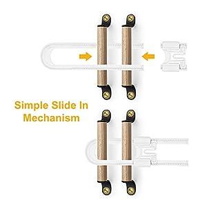 Skyla Homes – Sliding Cabinet Locks (8-Pack) 5 1/4...