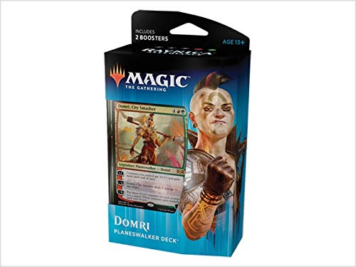 Magic The Gathering: MTG: Ravnica Allegiance Planeswalker Deck - Domri (Red/Green) w/Two Booster - Ravnica Mtg Magic