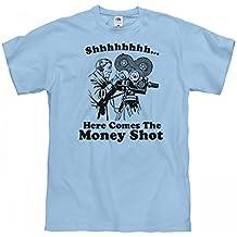 FUNNYSHIRTS.ORG Shhh, The Money Shot: Unisex Fruit of The Loom Midweight T-Shirt