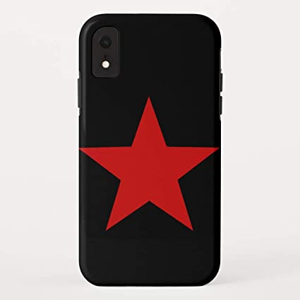 wholesale dealer a353c dca08 Amazon.com: Zazzle Red Star iPhone Xr Case Case-Mate Barely There ...