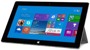 Microsoft Surface 2 32GB 10.6' Tablet Windows RT 8.1 with Microsoft Touch Keyboard - Black (Certified Refurbished)