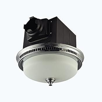 Air King AKLC702 Decorative Quiet Round Bath Fan with ...