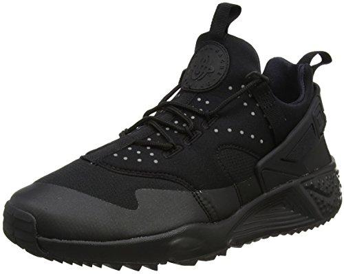 Nike Herren Air Huarache Schwarz Schwarz
