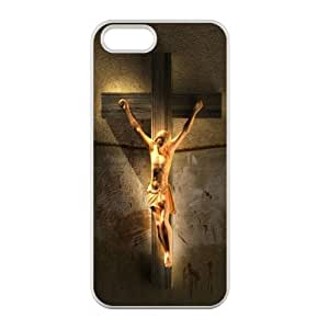 Artistic Follow Our Heart Jesus Saved Us Jesus Christ Cross iPhone 5/5S Case (Laser Technology) Belief iPhone Case