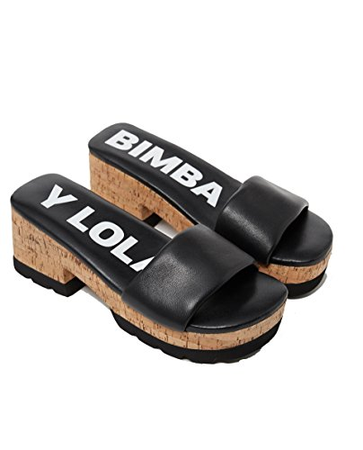 Femme Lola 181bz1512 Cork Y Bimba Leather Sandal qUHgExF