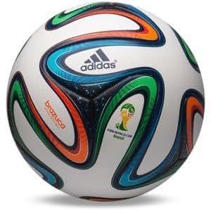 2014 Brazil World Cup FIFA Adidas Brazuca Official Match Ball Soccer Football (Standard Size)