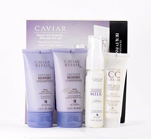 Alterna Caviar Repair Instant Recovery 4Pc Set Shampoo Condi