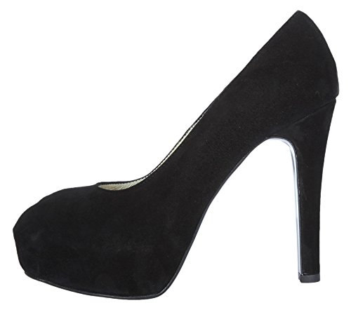 Christian cole cC202105 plateau high heels femme noir