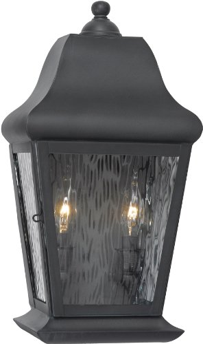 Elk 5316-C 9 by 17-Inch Belmont 2-Light Outdoor Wall Lantern, Charcoal Finish