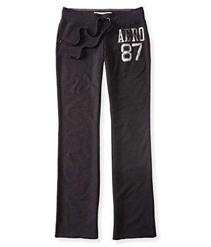 Aeropostale Women's Aero 87 Shimmer Fit & Flare Sweatpants