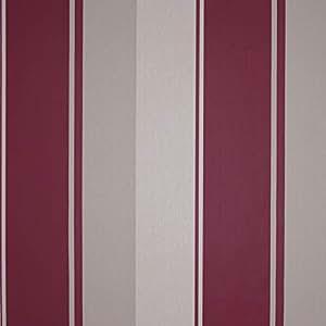SkiptonWall XU - SKU41-044 Queen Victoria Plain Wallpaper, Red and Beige