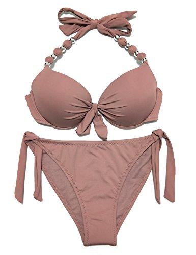 Khaki Bikini Set in Australia - 3