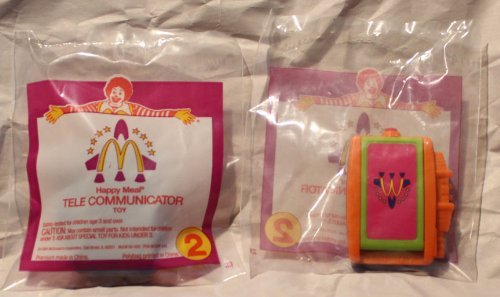McDonalds Happy Meal Toy Space Equipment #2 Tele Communicator by McDonalds