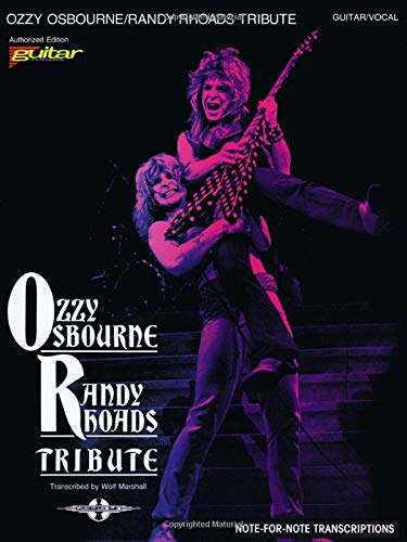 Ozzy Osbourne - Randy Rhoads Tribute: Guitar - Vocal: Amazon.es ...
