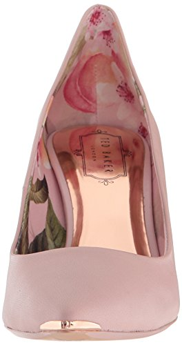 Ted Baker Women's Vyixyn Pump, Blossom Pink Leather Blossom Print Lining, 8 Medium US by Ted Baker (Image #4)