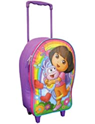 Dora and Boots Full Size 16 Rolling Backpack