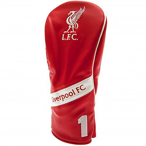 LIVERPOOL FC HERITAGE HEADCOVER (DRIVER) - LUXURY GOLF DRIVER HEADCOVER - PERFECT FOR ANY LFC GOLF FAN - FEATURES LFC COLOR AND CREST - ICONIC LIVERBIRD ON FRONT - LIVERPOOL SOCCER by Bourne Gifts