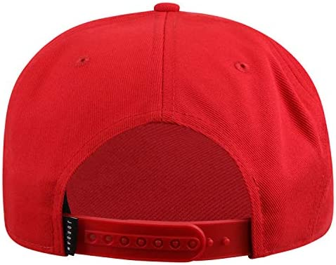 Jordan AV9765-687 Dri-Fit Pro Gym Red//Black Jumpman Air Snapback Hat