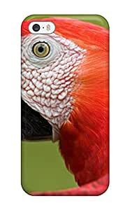 Iphone Cover Case - Scarlet Macaw Portrait Amazon Protective Case Compatibel With Iphone 5/5s