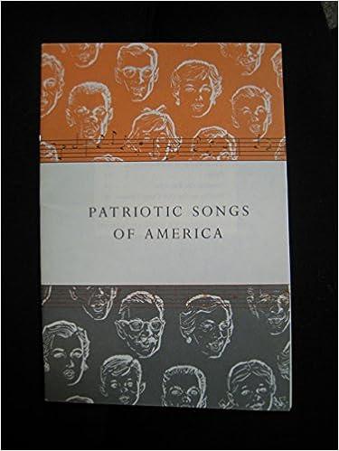 Patriotic Songs Of America By John Hancock Mutual Life Insurance