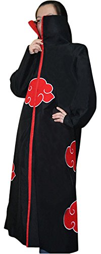Pulle-A Cosplay Akatsuki Costume Cloak Uniform Hoodie XL