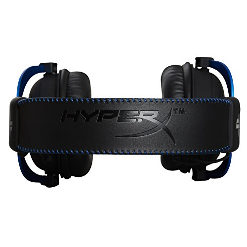 HyperX Cloud Gaming Headset - Playstation 4 - Officially Licensed Sony Interactive Entertainment LLC PS4 Systems - Black/Blue (HX-HSCLS-BL/AM) by HyperX (Image #5)