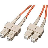 Tripp Lite Duplex Multimode 62.5/125 Fiber Patch Cable (SC/SC), 2M (6-ft.)(N306-006)
