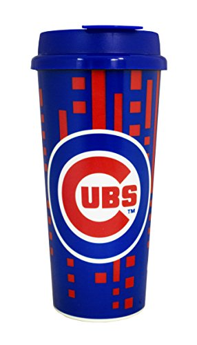 Chicago Cubs 16oz Travel Mug (Chicago Cubs Tailgating)