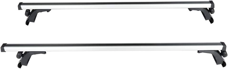 Liftstrut 2 Pcs 50 Roof Rack Cross Bars Luggage Carrier Silver Bar fit for Toyota Camry 2012-2018,for Toyota Corolla 1990-2018,for Toyota Corolla iM 2017-2018 Aluminum top roof rack crossbars