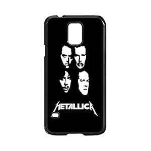Metallica Custom Image Case, Diy Durable Hard Case Cover for Samsung Galaxy S5 I9600, High Quality Plastic Case By Argelis-Sky, Black Case New