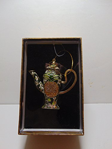 May Department Stores Co, Home for the Holidays, Cloisonne Tea Pot Ornament