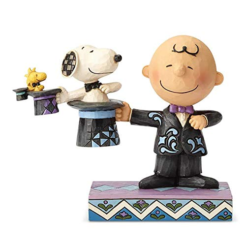 Enesco Peanuts By Jim Shore Top Hat Magician Figurine